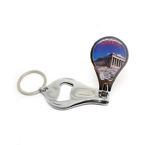 Custom Metal Keychain with Bottle Opener Nail Clipper Wholesale pictures & photos