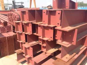 Light Steel Structure Warehouse Fabrication with SGS pictures & photos