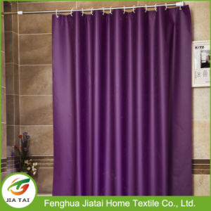 Wholesale Best Vintage Discount Purple Polyester Shower Curtain