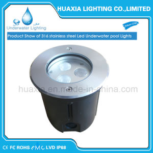 DC24V 9watt IP68 High Power LED Recessed Underwater Light pictures & photos