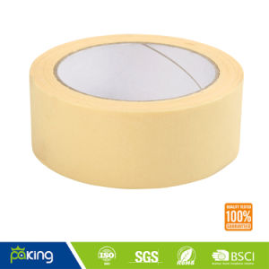 48mm Light Yellow Rubber Base Masking Tape pictures & photos