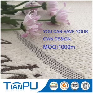 Poly Knit Jacquard Mattress Fabric with Aloe Vera Treatment pictures & photos