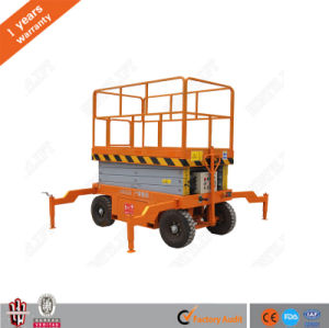 Discount Price Mobile Hydraulic Scissor Lifting Platform with Ce Approved pictures & photos