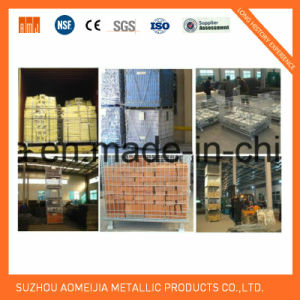 Zinc Surface Steel Storage Cages with Wheels, Lockable Cage  for Japan pictures & photos