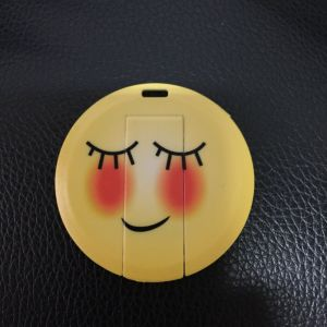 Credit Card Pen Drive Facial Expression USB Stick pictures & photos