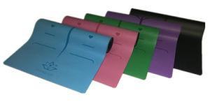 Best Antislip PU Polyeuthane Yoga Mat Laser Engraving Pattern Customizable pictures & photos