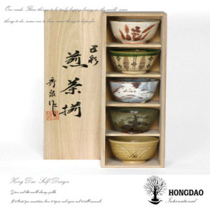 Hongdao Custom Chinese Style Wooden Bowl Packaging Box Wholesale_L pictures & photos