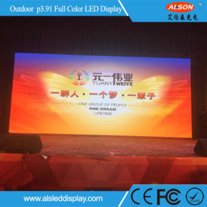Outdoor P3.91 Full Color Rental LED Display Screen for Stage pictures & photos