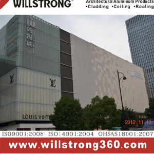 Willstrong Aluminum Composite Panel for Cladding Decoration pictures & photos