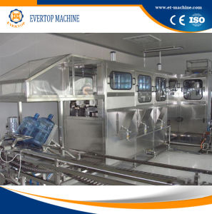 Zhangjiagang 5 Gallons Water Filling and Capping Machine pictures & photos