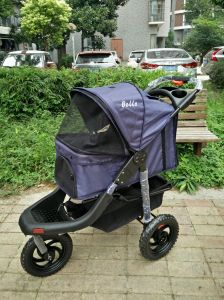 Quality Design 3-Wheels Stroller for Pets Outdoor Travel pictures & photos