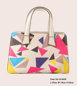 2017 New Fashion Printing Tote Handbags for Women pictures & photos