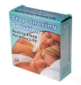 Stop Snoring Solution Anti Snore Mouthpiece Tray Stopper Sleep pictures & photos