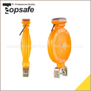 6LED Solar Traffic Warning Light (S-1359A) pictures & photos