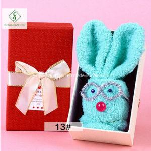 2017 New Design Socks Kewpie Rabbit Custom Children Gift Box pictures & photos