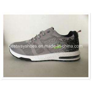 Flyknit Shoes Mesh Fabric Shoe Sporting Sneaker pictures & photos