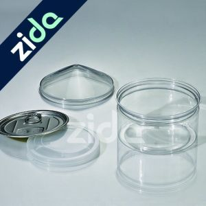 400ml Pet Plastic Jar with Alum. Lid for Food Storage Packing pictures & photos