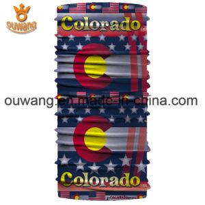 Wonderful Popular Fabric Wholesale Custom Logo Stretchy Seamless Bandana pictures & photos