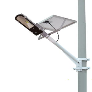 Super Bright 9W COB LED Street Light with Solar Panel pictures & photos