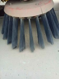 Steel Wire Snow Sweeper Brush/Road Sweeper Side Brush pictures & photos
