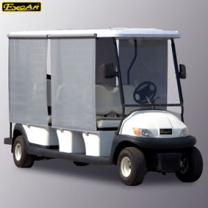 48V Battery Operated Electric Golf Cart with Sun Curtain pictures & photos