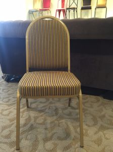 Hotel Iron Dining Banquet Chairs pictures & photos