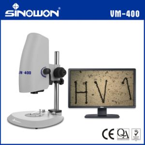 Adjustable LED Bottom Coaxial Illumination Video Microscope pictures & photos