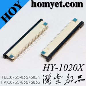 1.0mm Pitch 20p FFC/FPC Board Connector (HY-1020X) pictures & photos