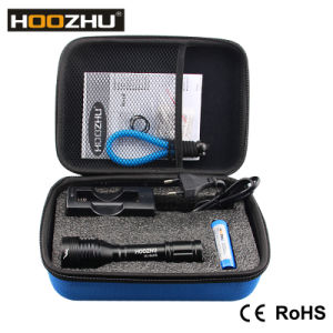 Hoozhu Dive Light Waterproof 100m Flashlight D10