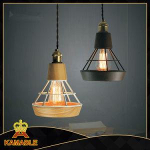Modern Wood Iron Decorative Pendant Lamp (KA2906/S) pictures & photos
