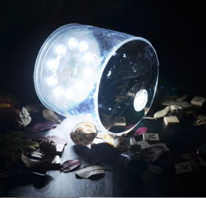 Portable Waterproof Inflatable Solar Light for Camping pictures & photos