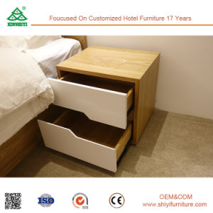 Hotel Bedroom Furniture Ash Wood 2 Drawer Nightstand pictures & photos