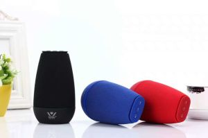 Daniu Brand 3W Wsa-8616 New Cloth Art HiFi Bluetooth Speaker Private Model Multifunctional Mini Speaker Desktop Speaker