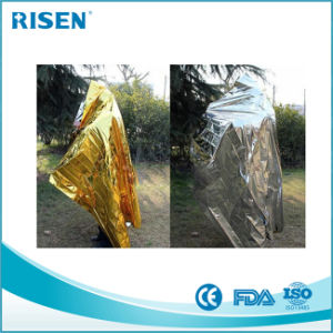 Wholesale Rescue Thermal Emergency Mylar Blanket pictures & photos