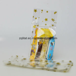 1.6mil BOPP Transparent Poly Bag / BOPP Side Gusset Plastic Bag with Printing pictures & photos