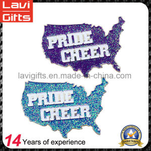 Beautiful Blink Color Lapel Pins for Promotion pictures & photos