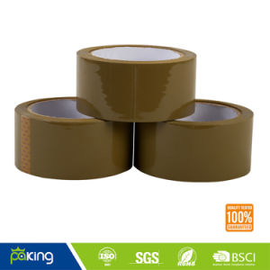 High Adhesion Brown OPP Adhesive Packing Tape for Box Sealing pictures & photos