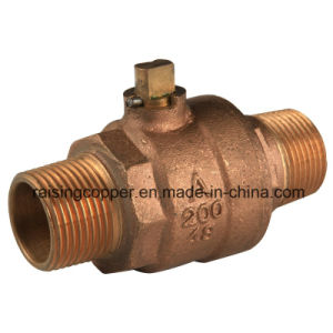 Bronze Ball Valve with Male Thread pictures & photos