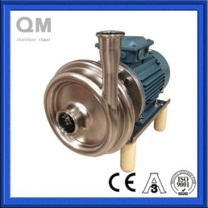 Sanitary Stainless Steel Ss304 Centrifugal Pump for Food Grade pictures & photos