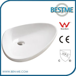 Bathroom Solid Surface Stone Art Basin pictures & photos