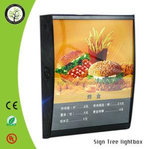 Acrylic Menu Display Crystal Light Box pictures & photos