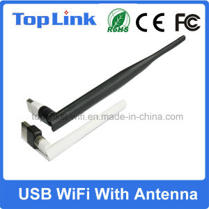 Top-GS05-T Low Cost Mt7601 150Mbps USB Wireless Network Card for Computer Wireless Transmitter and Receiver pictures & photos