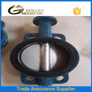 Water Centre Line Butterfly Valve pictures & photos