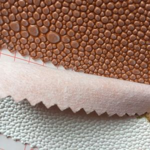 Pebble Grain PVC Leather for Making Lady′s Bags pictures & photos