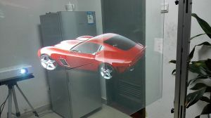 Rear Projection Screen for Paste on The Glass pictures & photos