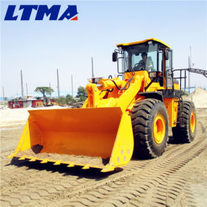 Construction Machinery 3 Ton 5 Ton Front End Wheel Loader pictures & photos