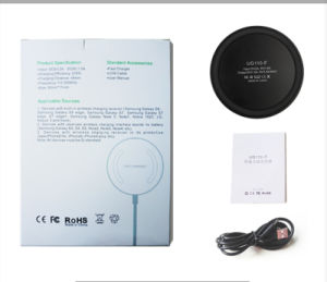 Portable Qi Standard Mini Wireless Charger for Samsung/iPhone/HTC Mobile Phone Charger pictures & photos