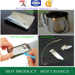 316 Stainelss Steel Foil for Electric Products pictures & photos