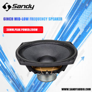 Speaker Neodymium Subwoofer Loudspeaker Nv6 pictures & photos