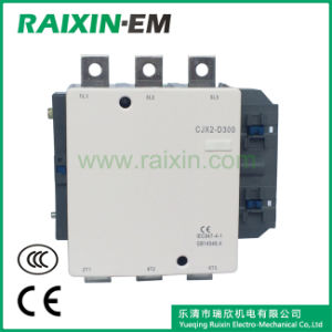 Raixin New Type Cjx2-D300 AC Contactor 3p AC-3 380V 160kw pictures & photos